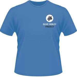 Blue Olive Ridley T-shirt