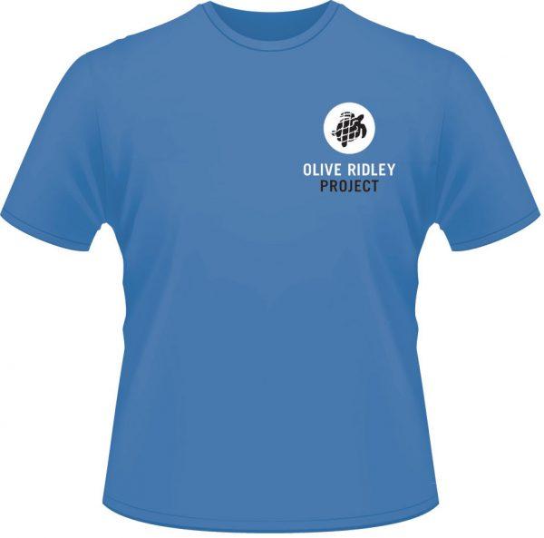 Blue Olive Ridley T-shirt