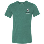 Olive Ridley t-shirt grey-green front