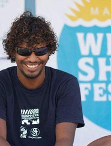 Portrait of Ibrahim Shameel ORP Project Coordinator Maldives