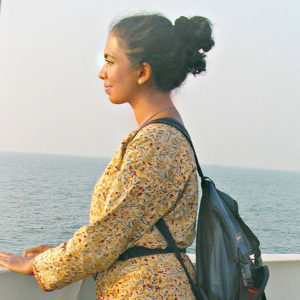 Portrait of Dr. Annie Kurian Project Scientist for the Olive Ridley Project in India
