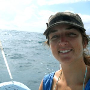 Portrait of Susie Gibson Graphic Designer for the Olive Ridley Project