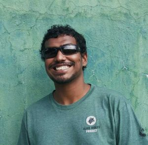 Portrait of Ibrahim Shameel Project Coordinator for the Olive Ridley Project in Maldives