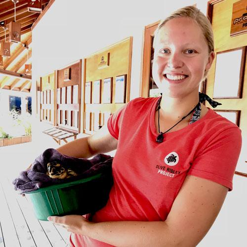 Dr Stephanie Köhnk, ORP Senior Project Scientist. Image.