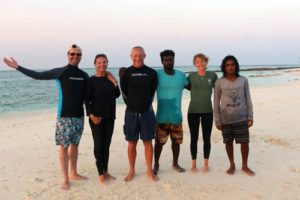 Olive Ridley Project Sea turtle research expedition team