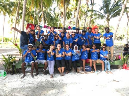 Laam Turtle Festical team group photo