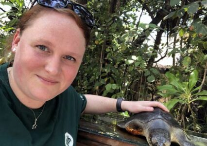 ORP's First Visiting Veterinarian – Sonya Miles