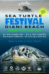 Diani Beach Sea Turtle Festival l2019