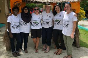 The ORP team at Vaavoshi Turtle Festival 2019