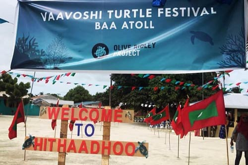 Welcome to Vaavoshi Turtle Festival 2019, the first ever turtle festival in Baa Atoll, on Hithaadhoo Island