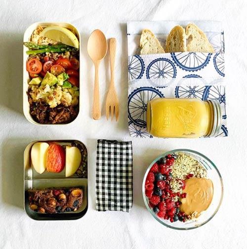 Sustainable food storage.