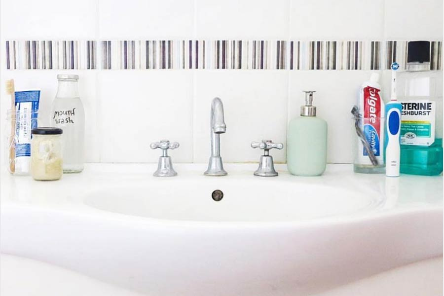 How to reduce plastic in your bathroom.