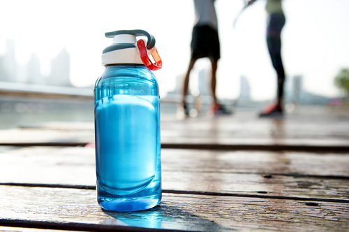 Tips to reduce your plastic waste: get a reusable water bottle.