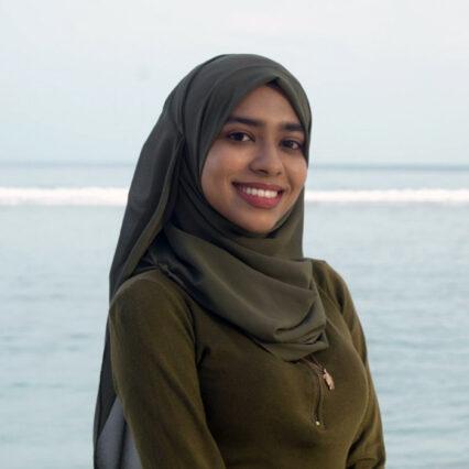 Risha Ali Rasheed, Project & Volunteer Coordinator, Maldives
