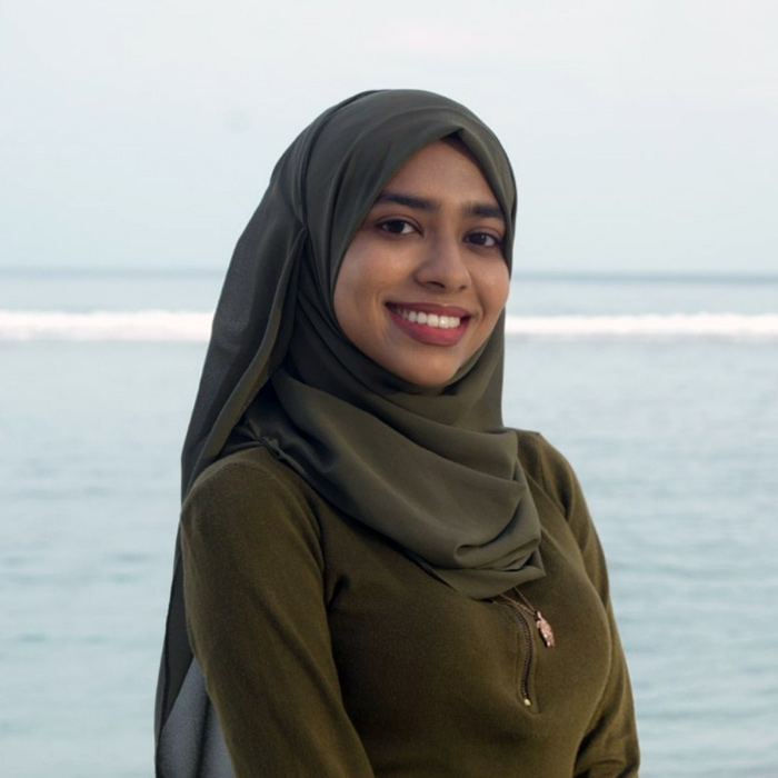 Risha Ali Rasheed, ORP Project & Volunteer Coordinator, Maldives