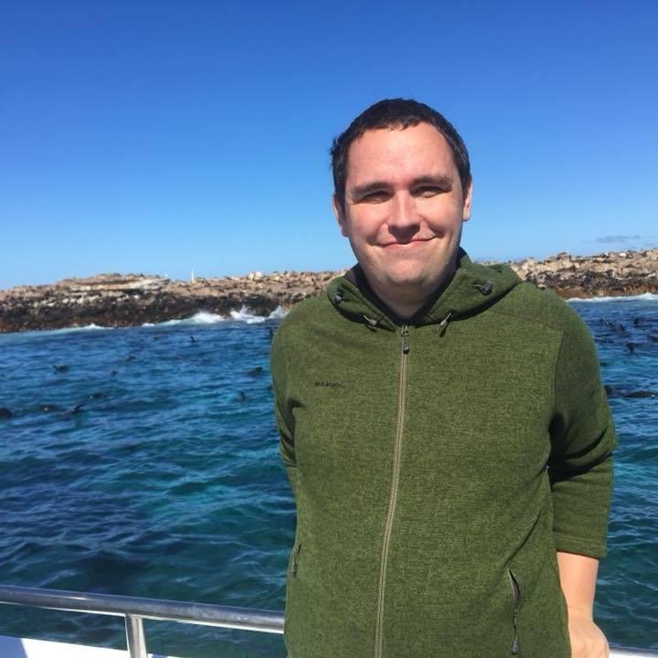 Simon McPherson, ORP Fundraising Officer. Image.