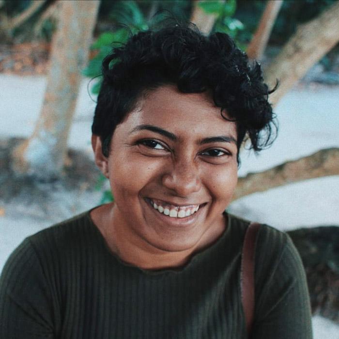 Isha Afeef, portrait, ORP Sea Turtle Biologist. Image