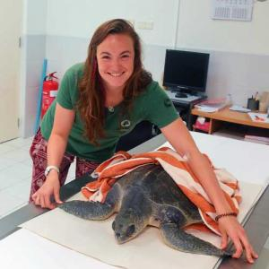 Dr Claire Lomas, Veterinary Surgeon